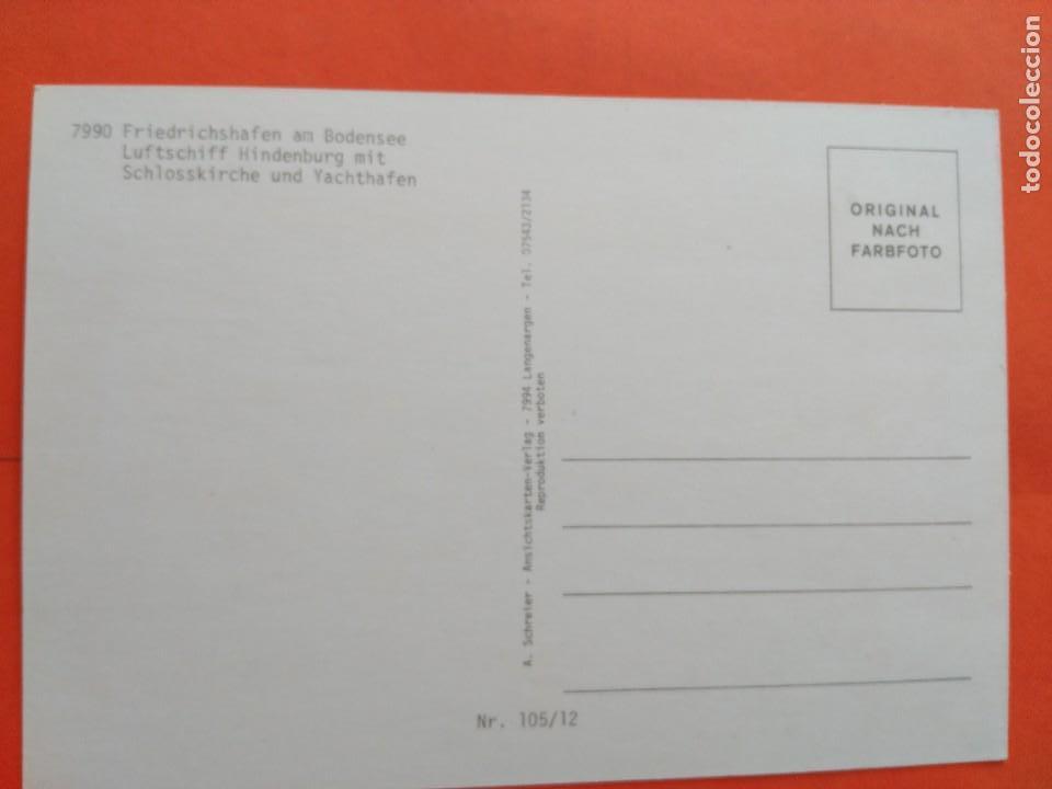 Postales: POSTAL ZEPPELIN - A. SCHREIER - NO CIRCULADA - Foto 2 - 71639623
