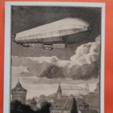 Postales: POSTAL ZEPPELIN NURNBERGER FLUGWOCHE 1922 - VERLAG ZURICH - NO CIRCULADA. Lote 71640871