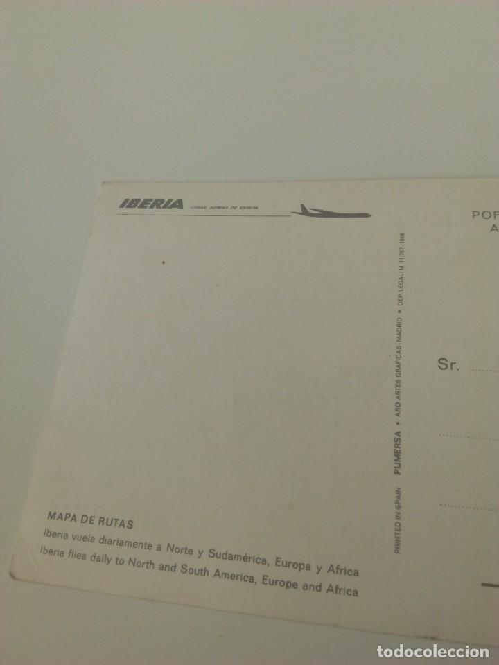 Postales: Carpeta Iberia + 2 postales. - Foto 4 - 71660143