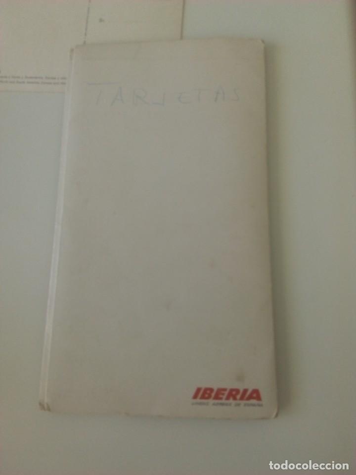 Postales: Carpeta Iberia + 2 postales. - Foto 6 - 71660143