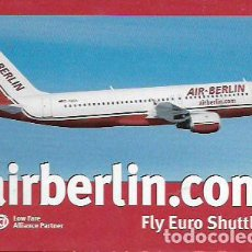 Cartes Postales: POSTAL AVIÓN * AIR BERLIN - AIRBUS 320 *. Lote 87348439