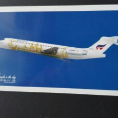 Postales: BANGKOK AIRWAYS BOEING 717-200. Lote 74150951
