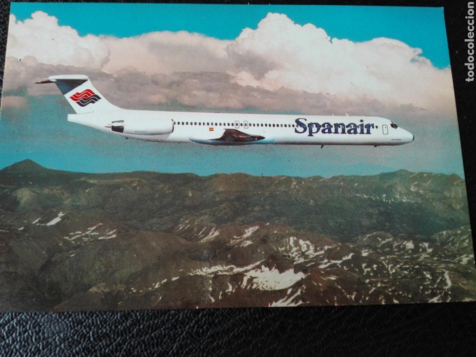 SPANAIR (Postales - Postales Temáticas - Aeroplanos, Zeppelines y Globos)