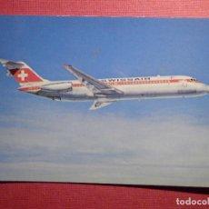 Postales: POSTAL - AVION - MCDONNELL DOUGLAS - DC-9-32 - SWISSAIR - NE - NC. Lote 75638479