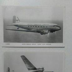 Postales: POSTAL BRITISH EUROPEAN AIRWAYS. ELISABETHAN, PIONAIR AEROPLANO. AÑOS 60.. Lote 79239926