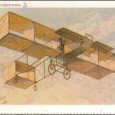 Postales: REPRODUCCION POSTAL ANTIGUA AEROPLANO - E.ANTALBE - SIN CIRCULAR. Lote 81141020