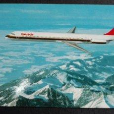 Postales: SWISS AIR MCDONALD'S DOUGLAS DC 9 81. Lote 82017923
