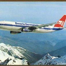 Postales: POSTAL AVIONES - BAVARIA GERMANAIR. Lote 85263260