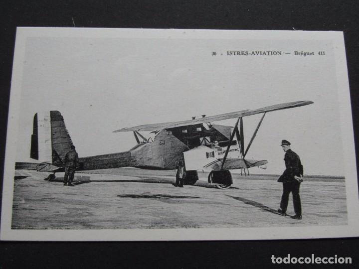 CPA TARJETA POSTAL 36 ISTRES AVIATION SIN CIRCULAR (Postales - Postales Temáticas - Aeroplanos, Zeppelines y Globos)