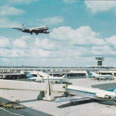 Postales: POSTAL AEROPUERTO DE AMSTERDAM. HOLANDA - KLM ROYAL Y FINNAIR. AEROLINEAS. Lote 88358464