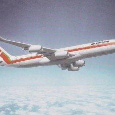 Postales: POSTAL TAP. AIR PORTUGAL. AEROLINEAS. AIRBUS A340. Lote 88362992