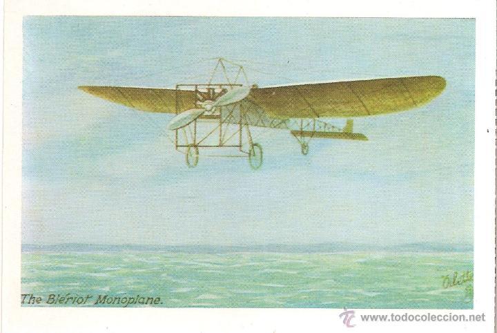 THE BLERIOT MONOPLANE (1909) - E. ANTALBE (REPRODUCCION) - S/C (Postales - Postales Temáticas - Aeroplanos, Zeppelines y Globos)