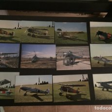 Postales: LOTE POSTALES DE AVIONES VARIOS. Lote 90201779