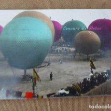 Postales: POSTAL FOTOGRAFICA COLOREADA. CONCURS DE GLOBOS. CIRCULADA. 23-11-07. . Lote 94034660