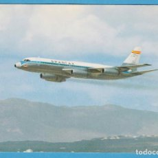 Postales: CONVAIR CV 990 A CORONADO. SPANTAX. Lote 94637051