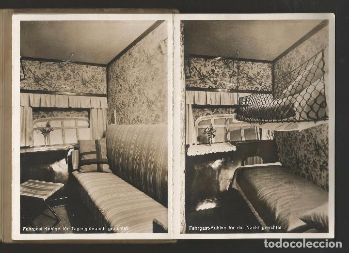 Postales: LZ 127 GRAF ZEPPELIN - LIBRO-ACORDEÓN CON 10 POSTALES - Foto 7 - 96619675
