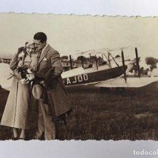 Postales: RM400 ANTIGUA POSTAL ORIGINAL P.P.S.XX 1920 APROX AVION AVIONES AEROPLANO. Lote 96966619