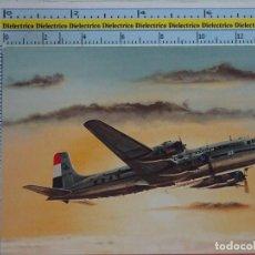 Postcards - POSTAL DE AVIACIÓN, AVIONES, AEROPUERTOS, AERONAÚTICA. AVIÓN DE KLM HOLANDA DOUGLAS DC-6. 1213 - 97005819