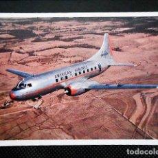 Postales: AMERICAN AIRLINES. SIN CIRCULAR. Lote 97847887