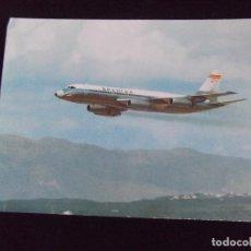 Postales: AVIONES-V42-NO ESCRITA-SPANTAX-CONVAIR CV 990 A ''CORONADO''. Lote 99546855