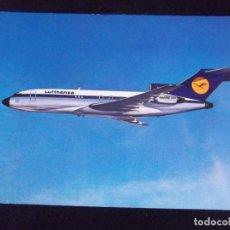Postales: AVIONES-V42-NO ESCRITA-LUFTHANSA-BOEING 727 EUROPA JET. Lote 99546955