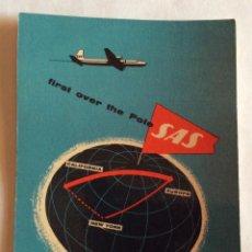 Postcards - POSTAL PUBLICIDAD AVIÓN. LÍNEAS AÉREAS. SAS, SCANDINAVIAN AIRLINES SYSTEM - 99701727