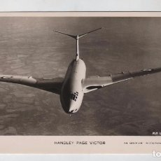 Postales: FOTO POSTAL AVION HANDLEY PAGE VICTOR, ED VALENTINE'S. Lote 102198859