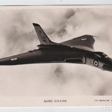 Postales: FOTO POSTAL AVION AVRO VULCAN, ED VALENTINE'S. Lote 102199227