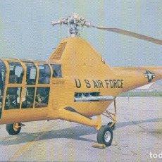 Postales: POSTAL SIKORSKY YH-5A - U S AIR FORCE. Lote 102369991