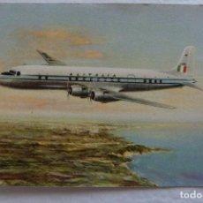 Postales: POSTAL DE AVIONES - AVION - ALITALIA SUPER - DC 6B. Lote 103226455