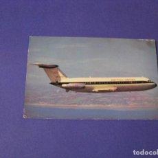 Postales: POSTAL DE AVIÓN DE BRITISH UNITED. CIRCULADA. 1965.. Lote 103332459