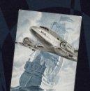 Postales: KLM POSTAL TORNASOLADA. KONINKLIJKE LUCHTVAART MAATSCHAPPIJ - REAL COMPAÑÍA HOLANDESA AVIACIÓN, 1940. Lote 104041307