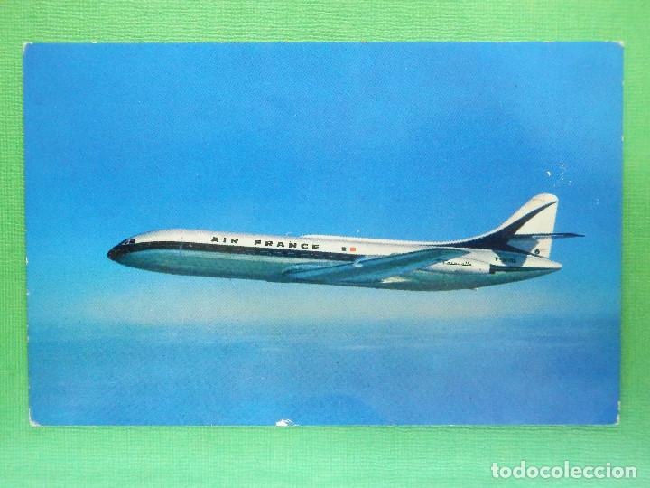 POSTAL - AVIONES - AVION - CSRAVELLE - AIR FRANCE - NE - NC (Postales - Postales Temáticas - Aeroplanos, Zeppelines y Globos)