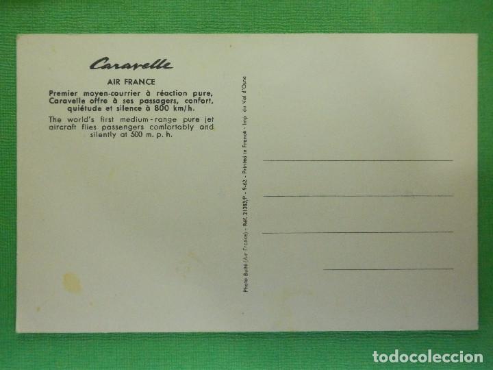 Postales: POSTAL - AVIONES - AVION - CSRAVELLE - AIR FRANCE - NE - NC - Foto 2 - 104322623