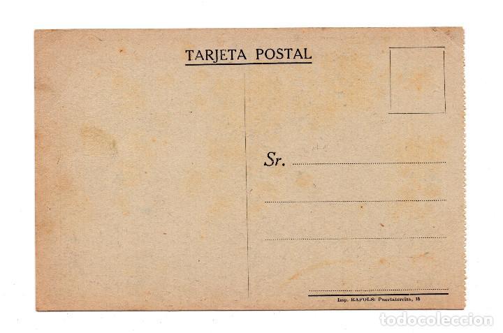 Postales: POSTAL DE AVIACION: TRAVESIA DE LA MANCHA, MONOPLANO BLERIOT ATERRIZANDO EN INGLATERRA (IMP.RAFOLS) - Foto 2 - 105765119