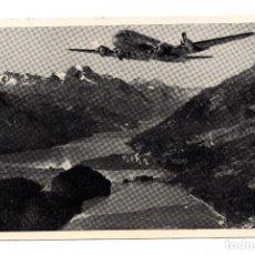 Postales: AVIÓN - THE AIRLINE OF SWITZERLAND. Lote 106585159