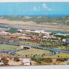 Postales: POSTAL VISTA PARCIAL DEL AEROPUERTO DE MAIQUETIA, 1964. VENEZUELA. POST CARD . Lote 108890539
