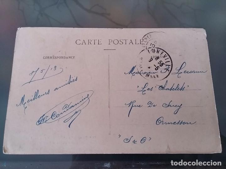 Postales: POSTAL DE AVIACION, ZEPPELIN, EL 3, 4 DE ABRIL DE 1913 EN LUNEVILLE, FRANCIA, CIRCULADA EN MAYO DE 1 - Foto 2 - 110024139