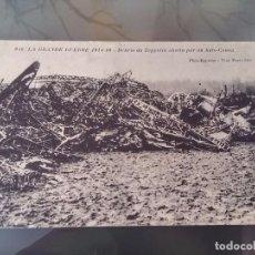 Postales: POSTAL DE LA I GUERRA MUNDIAL, 1914-1915, ZEPPELIN ABATIDO POR UN AUTO CAÑON, PHOT EXPRESS, VISE PAR. Lote 110027627
