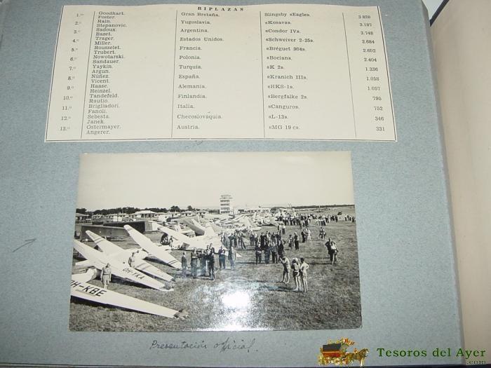 Postales: ANTIGUO ALBUM FOTOGRAFICO DE EL CAMPEONATO MUNDIAL DE VUELO A VELA DE 1956 EN SAINT YAN (Francia) C - Foto 5 - 38264424