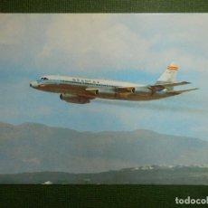 Postales: POSTAL - AVIONES - SPANTAX - CONVAIR CV 990 A - CORONADO - I.G. DOMINGO -. Lote 111510767