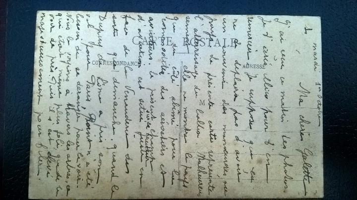 Postales: POSTAL DIRIGIBLE 1912 - Foto 2 - 112101511