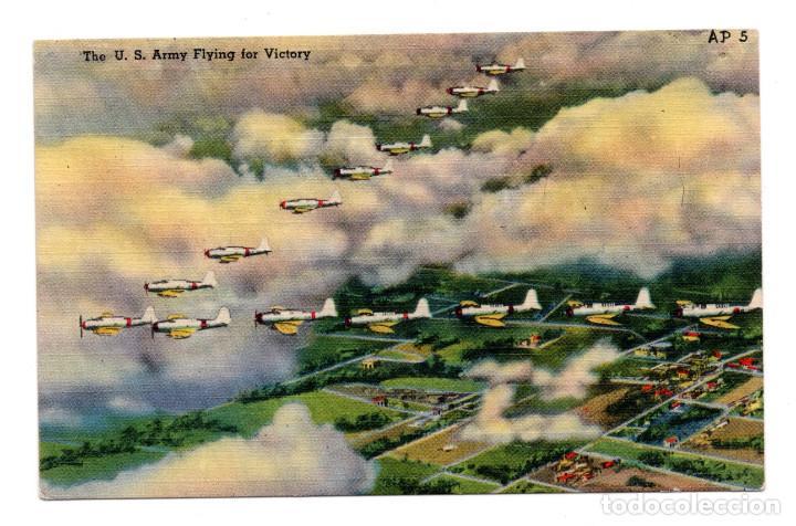 POSTAL - U.S. ARMY FLYING FOR VICTORY (Postales - Postales Temáticas - Aeroplanos, Zeppelines y Globos)