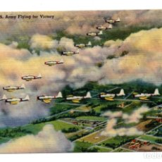 Postales: POSTAL - U.S. ARMY FLYING FOR VICTORY. Lote 113355075