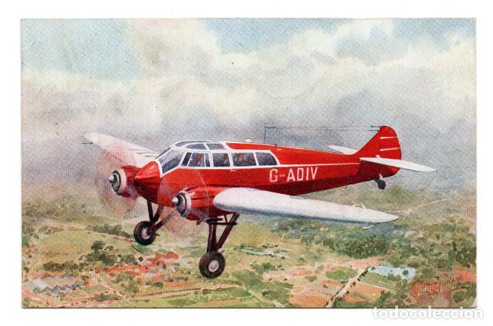POSTAL - AVIONETA MONSOPAR S.T. 25 (Postales - Postales Temáticas - Aeroplanos, Zeppelines y Globos)