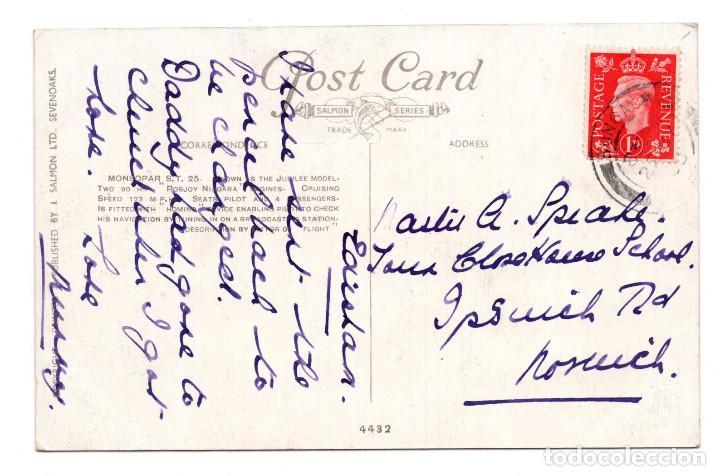 Postales: POSTAL - AVIONETA MONSOPAR S.T. 25 - Foto 2 - 113355271