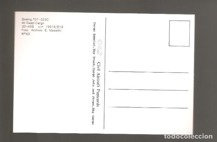 Postales: Postales de aviones sin usar nuevas 006 - Foto 2 - 113959247