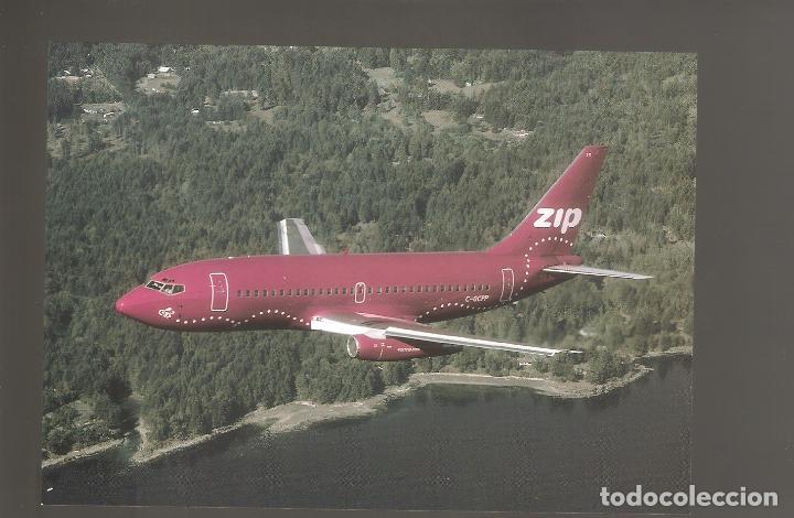 POSTALES DE AVIONES SIN USAR NUEVAS 024 (Postales - Postales Temáticas - Aeroplanos, Zeppelines y Globos)