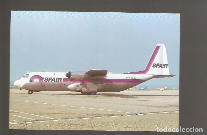 POSTALES DE AVIONES SIN USAR NUEVAS 026 (Postales - Postales Temáticas - Aeroplanos, Zeppelines y Globos)