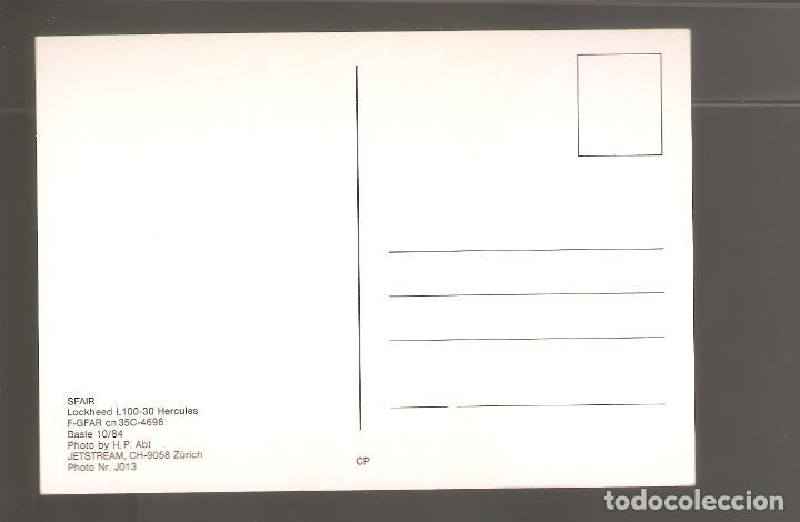 Postales: Postales de aviones sin usar nuevas 026 - Foto 2 - 113960731